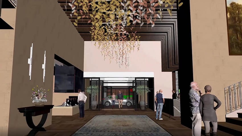 Waterbrook Bowral Concept Screenshot with Renderpeople 3D People