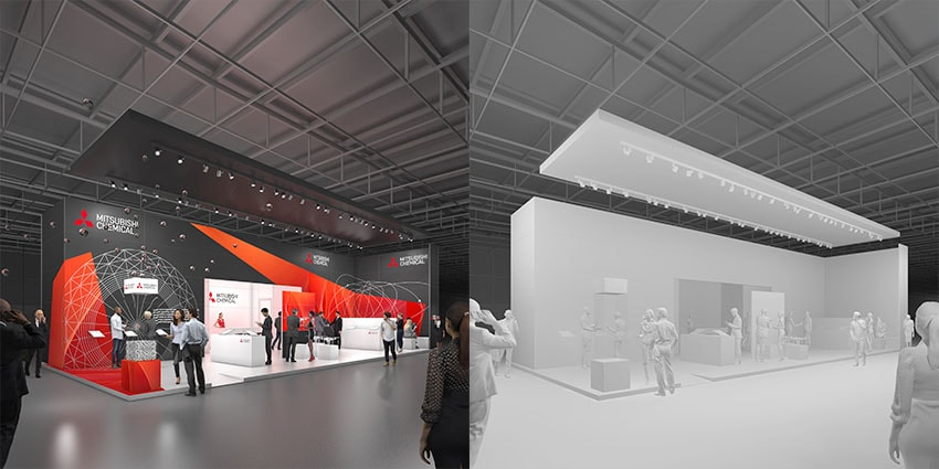 Artlantis Trade Fair Render Comparison