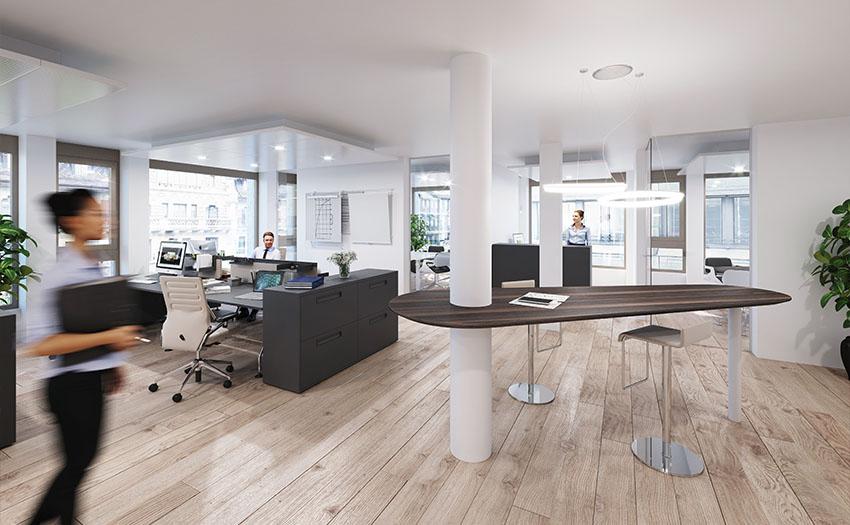 Interior office 3D Visualization