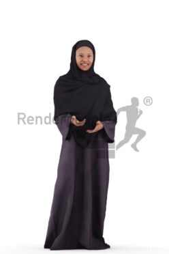 """Posed 3D People model by Renderpeople – """""""""""