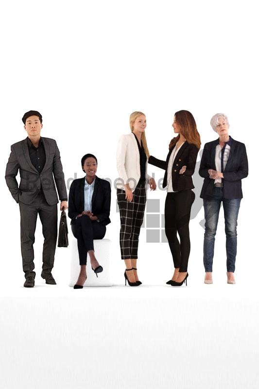 bundle of business 3d people
