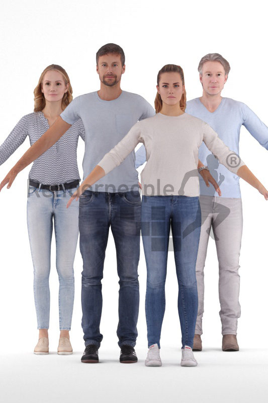 3d people casual bundle