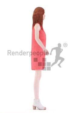 """Rigged 3D People model for Maya and Cinema 4D – """""""""""