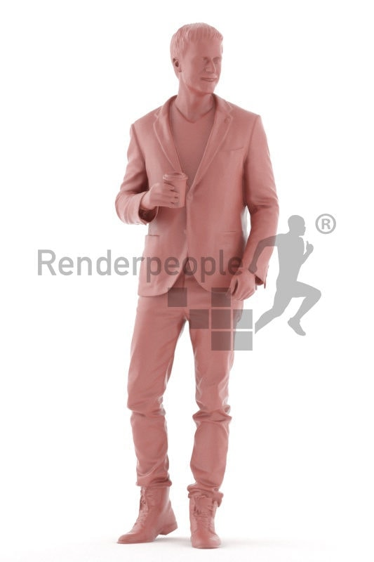 """3D People model for 3ds Max and Cinema 4D – """""""""""