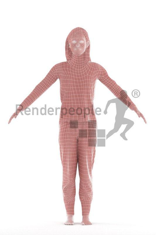 3d people sleepwear,