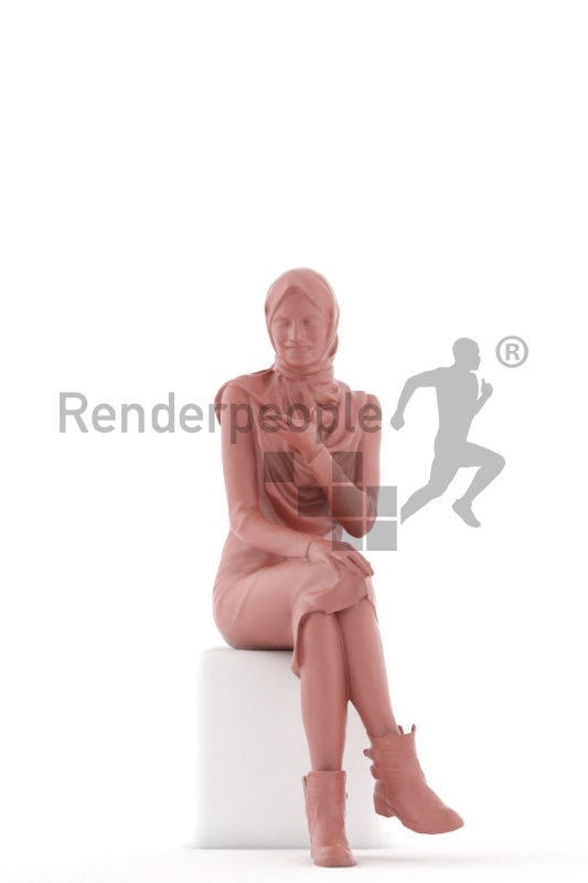 Posed 3D People model for renderings –
