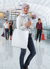 3D People Shopping Retail Category
