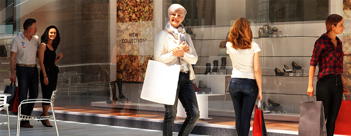 3D People Renderpeople Category Shopping Retail