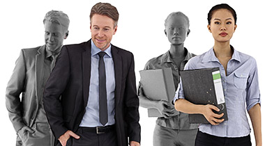 Posed 3D People Shop Category