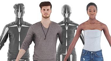 Over 3,300 Scanned 3D People Models | RENDERPEOPLE