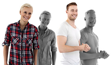3d people posed, free photorealistic 3d people for visualizations