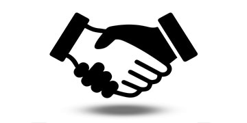 renderpeople partner handshake pictogram