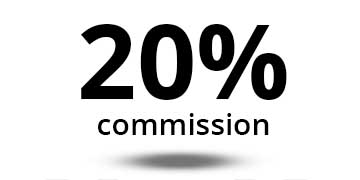 renderpeople affiliate program comission rate 20%