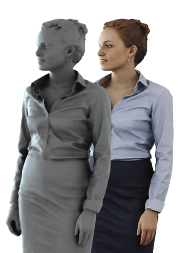 3d people posed, photorealistic 3d people for visualizations